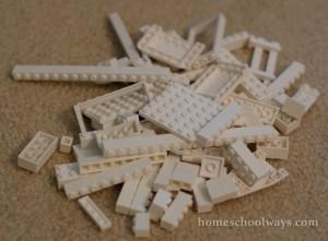 LEGO Bricks Pile