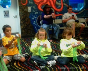 Ripley's Aquarium Shooting Stars Homeschooling Class