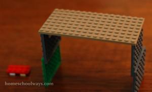LEGO Tent Macro Scale