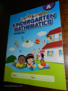 Singapore Math Earlybird Kindergarten