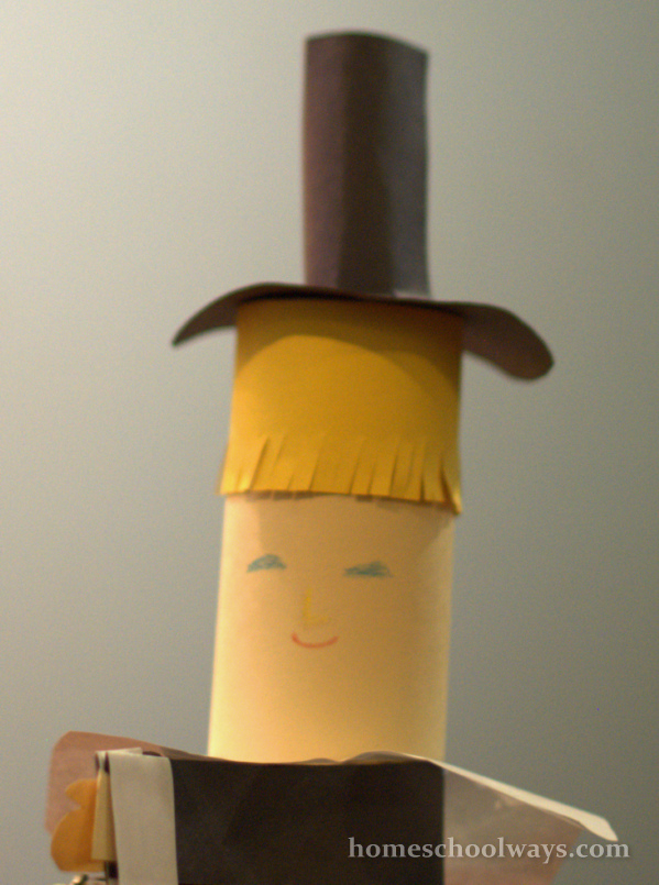 Pilgrim Boy Thanksgiving Craft