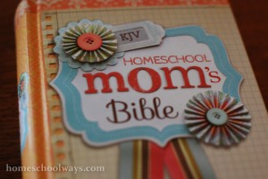 The Homeschool Mom Bible - The daily devotional pages got embedded into a KJV Bible published by Zondervan and Alpha Omega Publications.