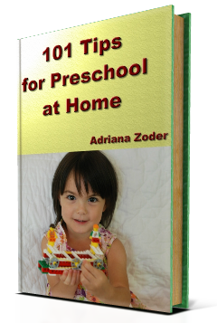 101 Tips for Preschool at Home
