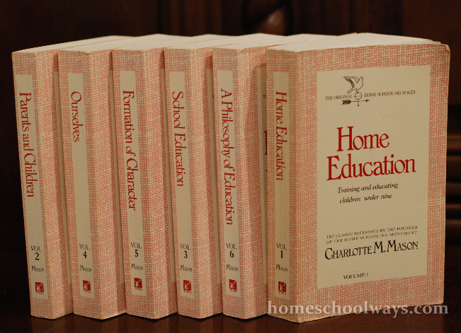 The Charlotte Mason Six Volumes on Home Education