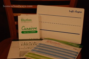 Logic of English, Rhythm of Handwriting, Cursive Curriculum Set