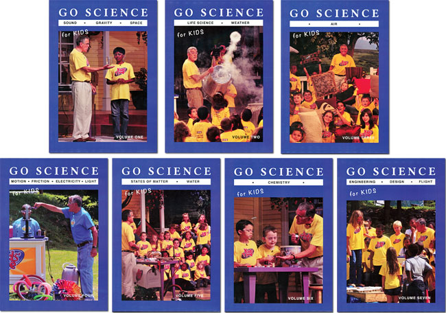 Go Science DVD Set
