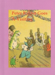 Peter Rabbit Goes A-Visiting book cover