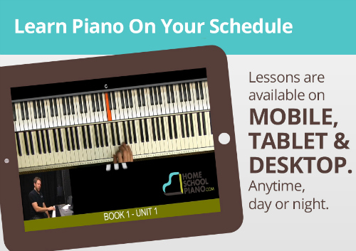 HomeSchoolPiano Tablet
