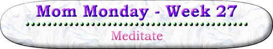 Meditate Mom Monday Devotional for Homeschooling Moms