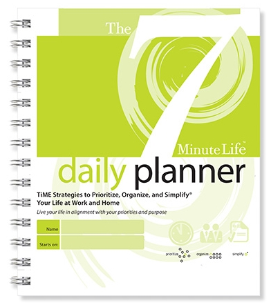 7 Minute Life Daily Planner Cover