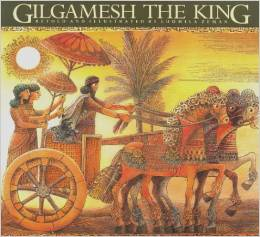 Gilgamesh the King Book Cover