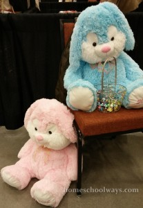 Easter Bunnies at the Hospitality Show