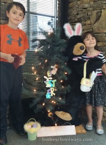 Easter Bunny Black Bear