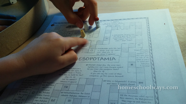 Conquer Mesopotamia Board Game