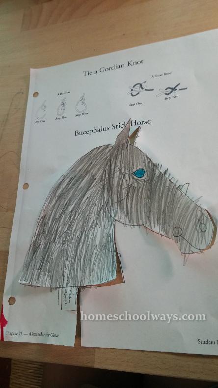 Bucephalus Stick Horse