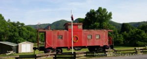 Hot Springs Red Caboose