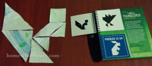 Tangram Squirrel