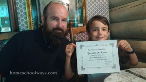 Homeschool Certificate of Completion
