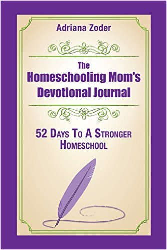 Homeschooling Mom Devotional Journal