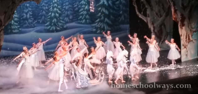 Scene from The Nutcracker