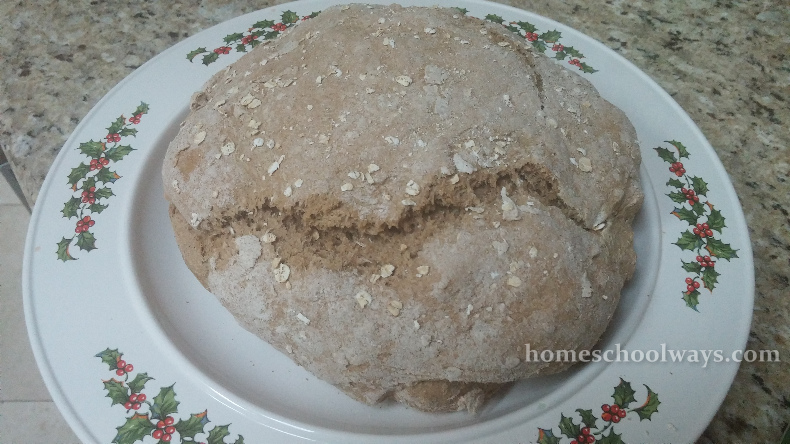 Homemade viking bread