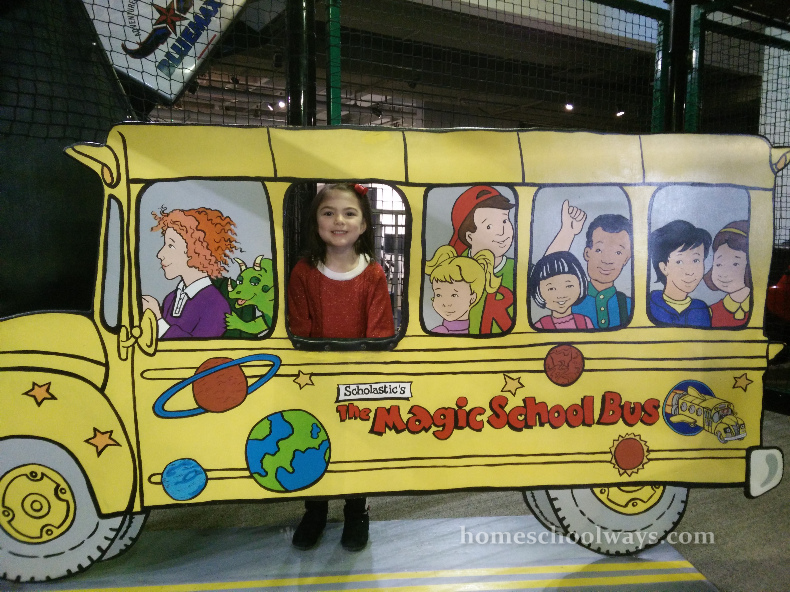 Magic School Bus at Adventure Science Center