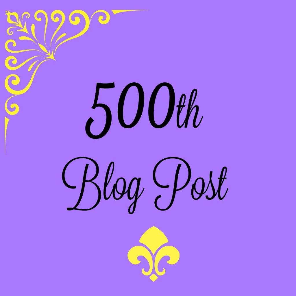 500th blog post on HomeschoolWays.com