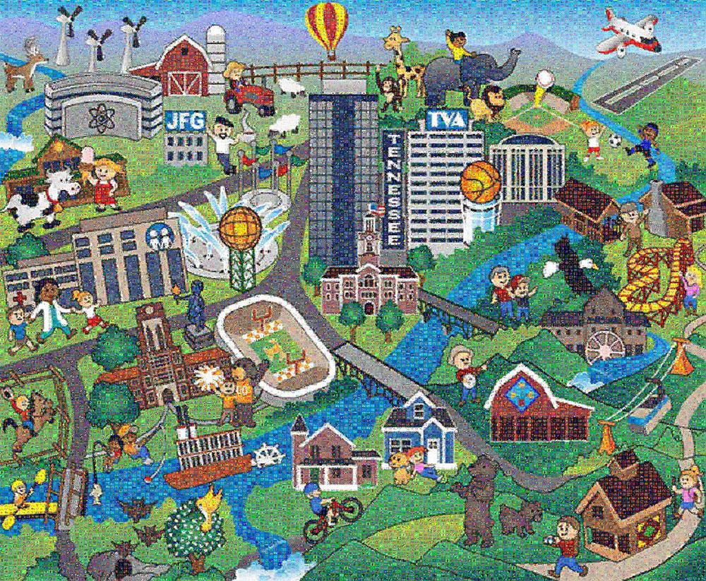 East TN Children's Hospital Mural