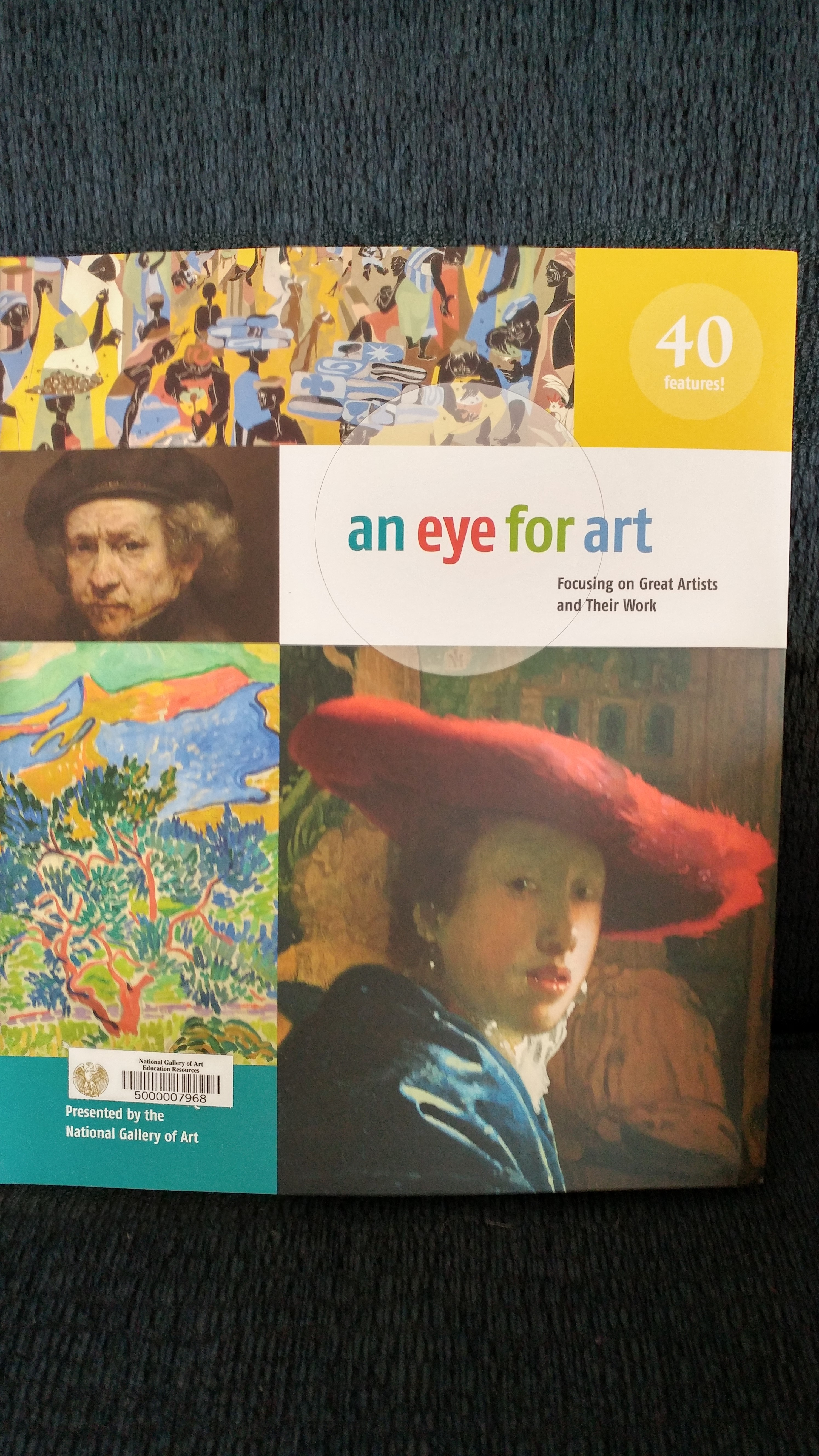 An Eye For Art - a book we borrowed from the National Gallery of Art