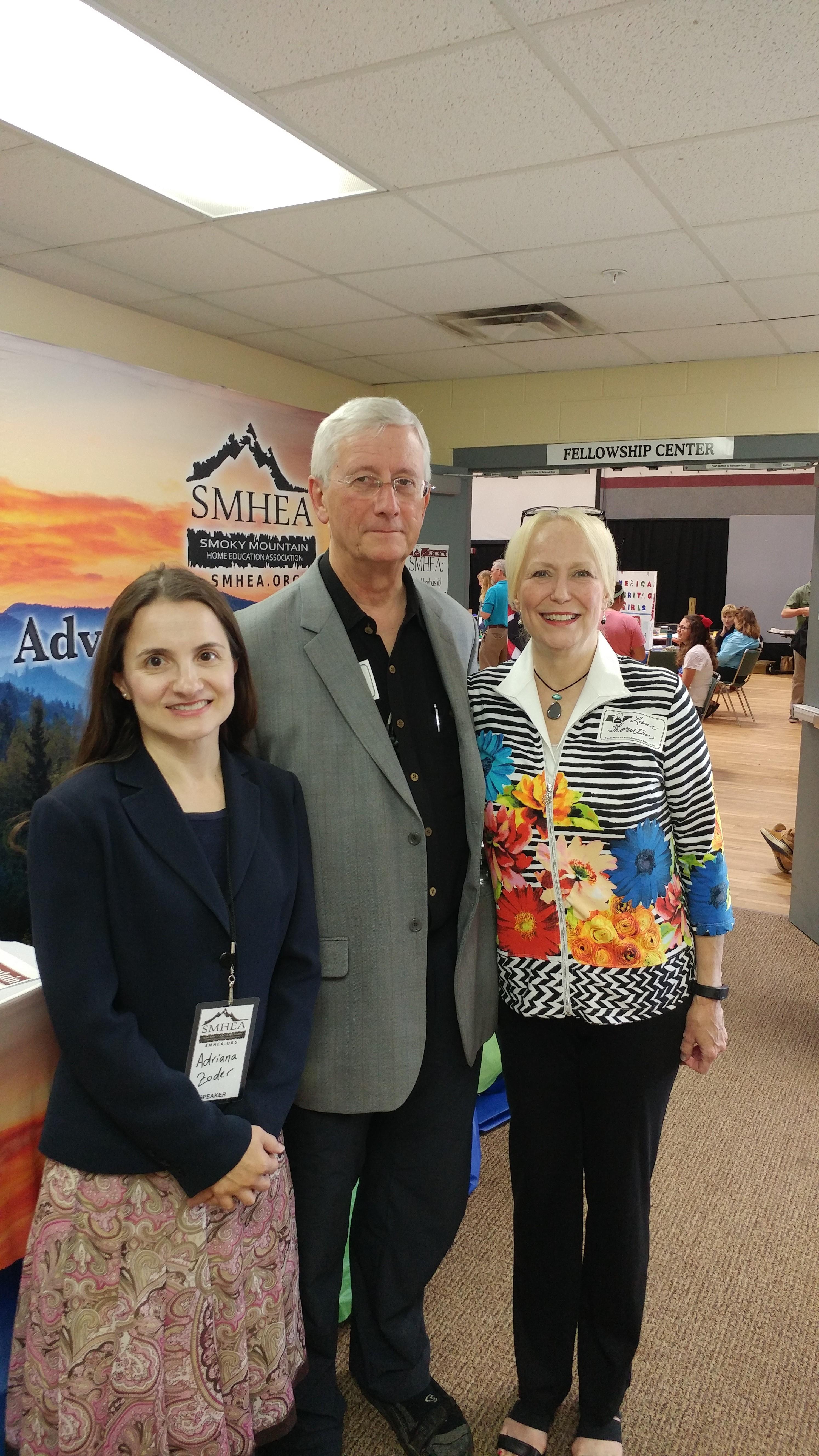 Adriana Zoder, Claiborne and Anne Thornton