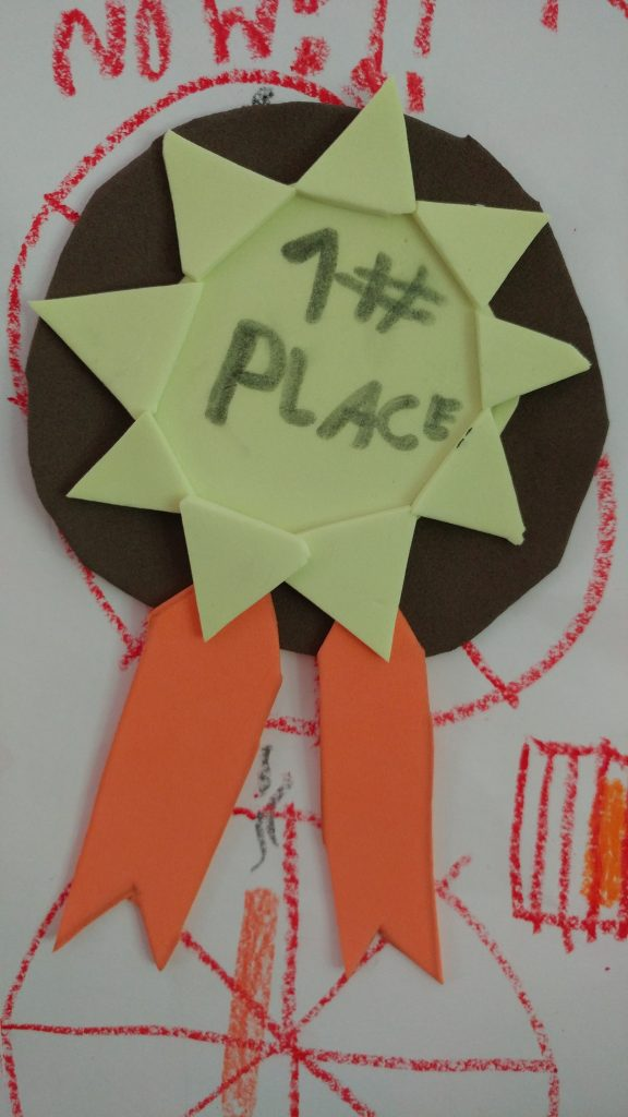 #1 Place Medal Craft