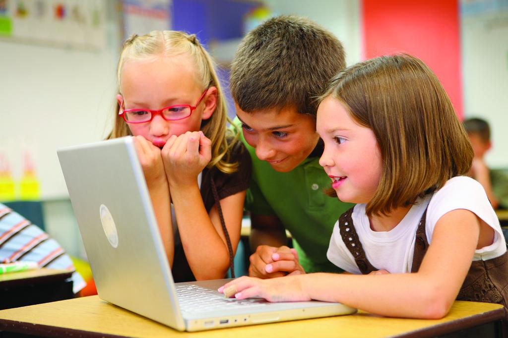 Children learning together