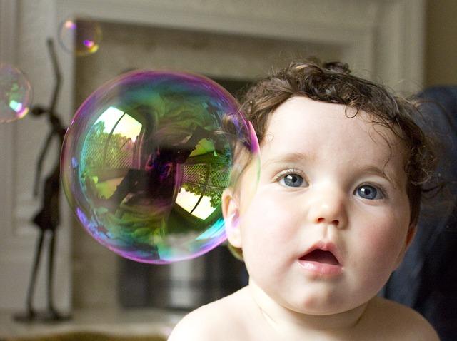 Baby Soap Bubble