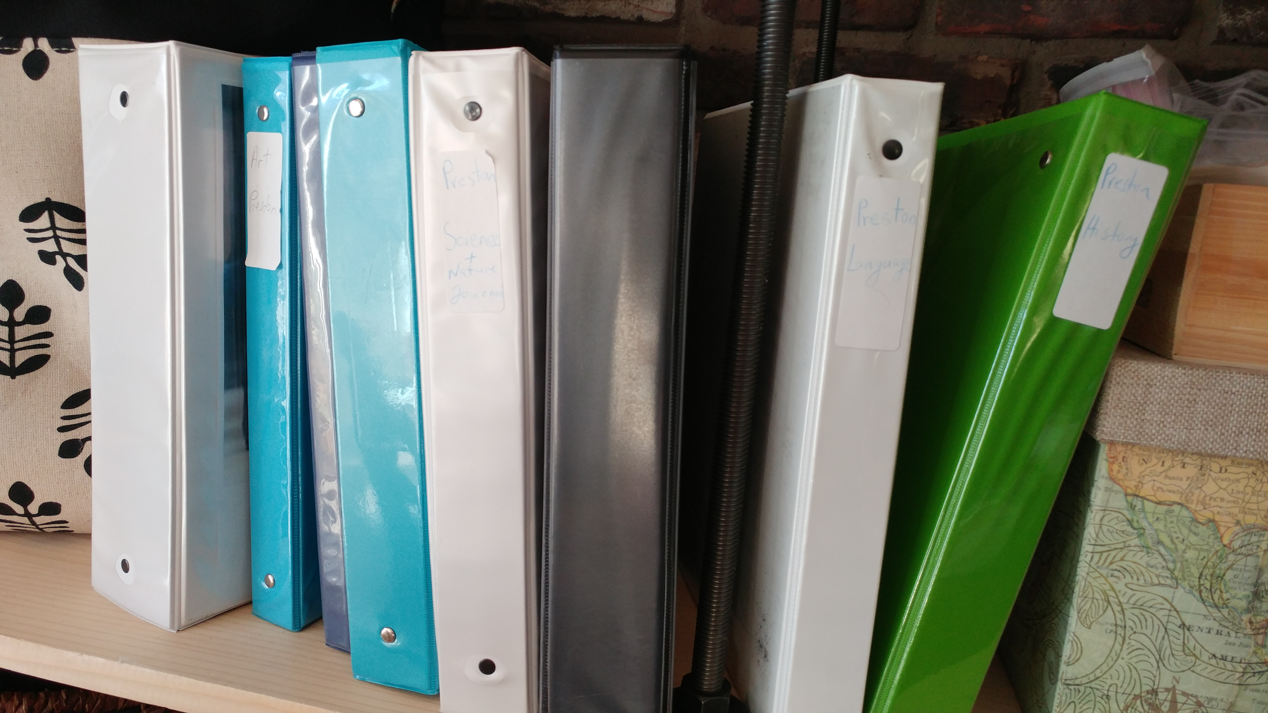 Well-Trained Mind school binder system
