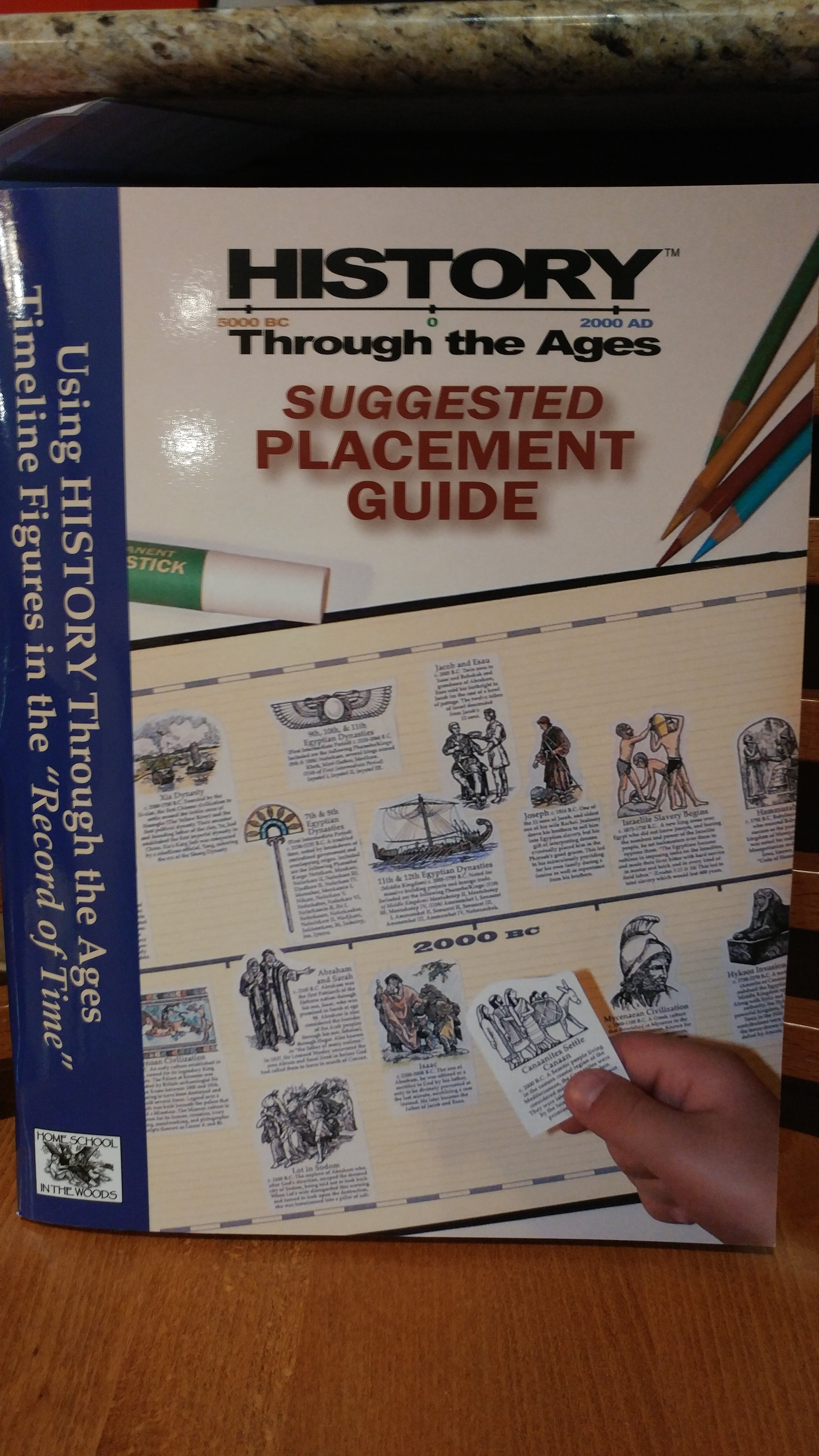 History Timeline Placement Guide