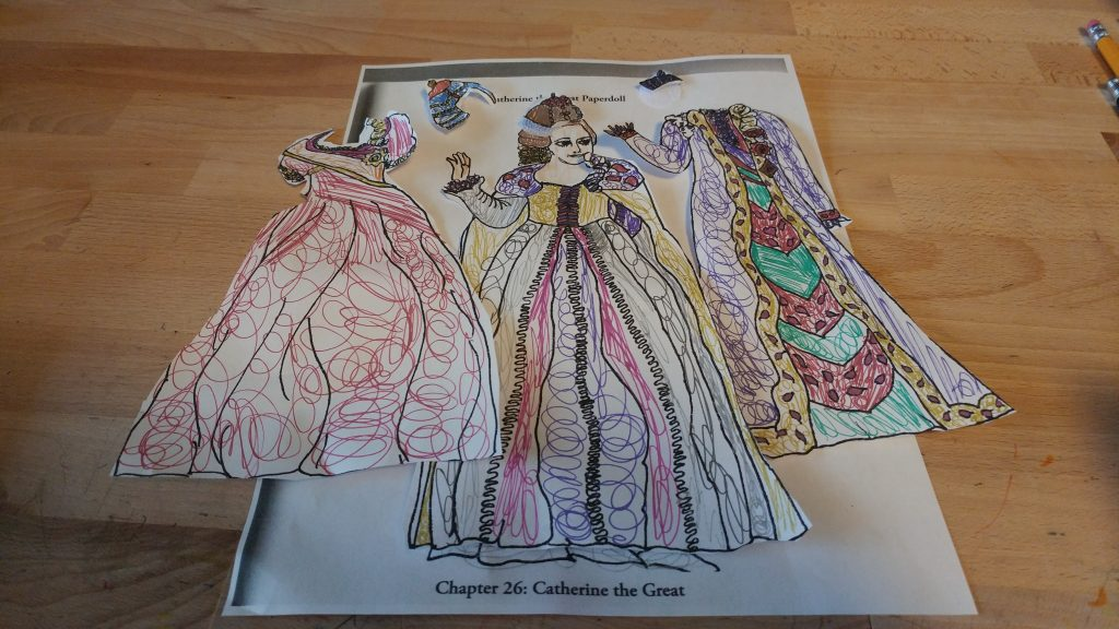 Catherine the Great Paper Dolls
