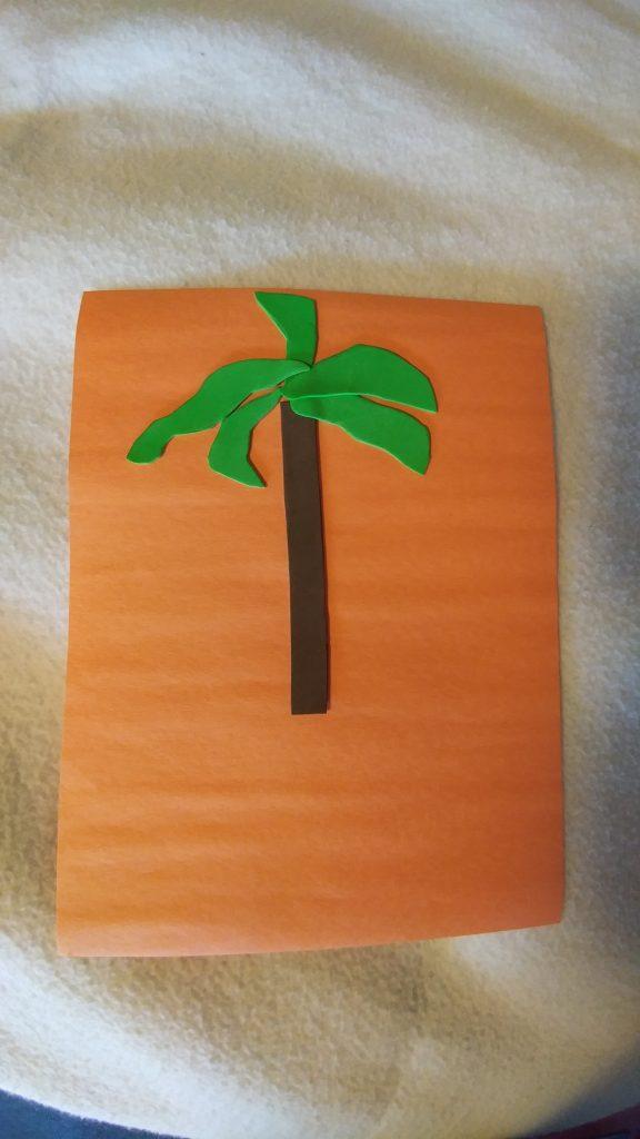 Symbol of Haiti - the palm tree